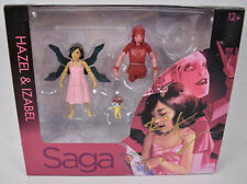 Saga Hazel Izabel Action Figure Skybound 2 Pack Image Signed Brian K Vaughan