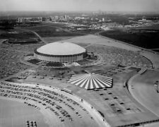 1969 Houston Astros ASTRODOME Glossy 8x10 Photo Aerial Print Poster Oilers