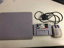 Mario Paint SNES Cartridge, Pad & Mouse