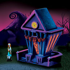 Tim Burton Nightmare Before Christmas Hawthorn Village TOWN HALL NEW