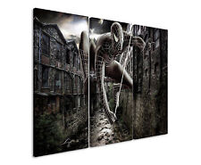 The AMAZING SPIDER MAN 3x90x40cm 3tlg tela telaio tipo fantasy
