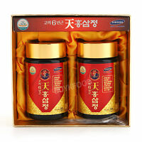Korean 6Years Root Red Ginseng Gold Extract, 240g(8.5oz) X 2ea, Saponin, Panax