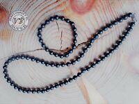 Shungite beads + bracelet bead 6 mm.