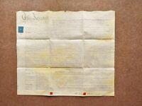 1843 West Bromwich Twenty House Row Victorian Vellum Deed Document Indenture