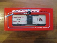American Flyer/Lionel 6-48323 1995 Christmas Car w Free ship!