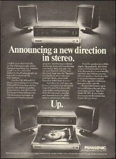 1970 Vintage ad for Panasonic Stereo Radio  Photo (091616)