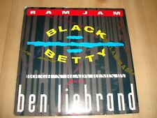 "RAM JAM - BLACK BETTY (BEN LIEBRAND REMIX) (EPIC 7"")"