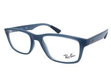 Ray-Ban Eyeglasses RX RB 7063 8019 52-18 Transparent Light Blue