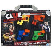 Nerf Blaster Mini Gun Clue Elimination Game Hasbro Toy Ages 8+ Boys Girls Fight