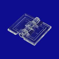 Scharnier aus Acrylglas zum ankleben auf Acrylglas und Plexiglas