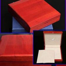 SWAROVSKI Limited Edition CHERRY WOOD JEWELRY BOX w/ Certificate
