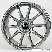 1 ROTA TARMAC 3 18X8 5X112 ET35 57.1 STEEL GRAY WHEELS