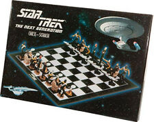 Star Trek Next Generation Imported PVC Chess Set from Europe-Boxed (ST-CHESS-FW)