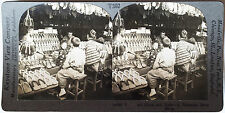 Keystone Stereoview of Clogs at Shoe Shop in JAPAN from the 1930's T400 Set #302