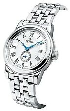 NEW Gevril Men's 2501 Madison Automatic  ETA 2895 Stainless Steel Date Watch