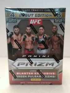 2021 UFC Panini Prizm BLASTER BOX IN HAND Sealed Fresh From Case 6 Packs 24 Card
