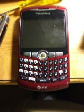 BlackBerry Curve 8310 Mobile Phone Red (At&T)