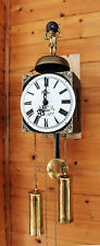 HERMLE  WALL CLOCK RARE MODEL  BELL NICELY DECORATED