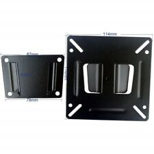 """TV Wall Mount Bracket Fixed Position 14 to 24"""" LED LCD TV VESA up to 100x100mm"""