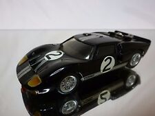 GRAND PRIX MODELS KIT (built) FORD GT40 LE MANS 1966 - BLACK 1:43 RARE - GOOD