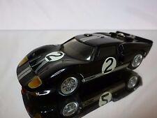 GRAND PRIX MODELS KIT (built) FORD GT40 LE MANS 1966 - BLACK 1:43 RARE - GOOD
