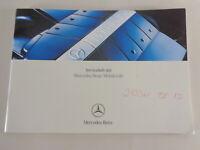 Checkbook Mercedes Benz SLK, CLK, Sl, CL , Etc. On German By 04/2003