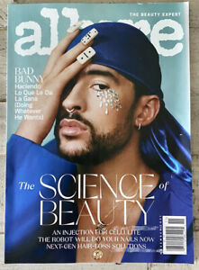 Allure Magazine November 2021 Bad Bunny Science Of Beauty Cellulite Hair Loss