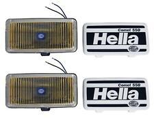 Hella 550 Series 55W 12V H3 Fog Lamp Kit - Amber #5700681