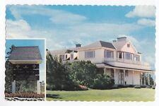 Maison Blanche d'Elsie Reford GRAND-MÉTIS Bas St-Laurent Quebec Canada
