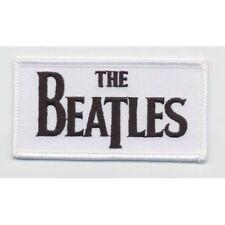 Official Merch Woven Iron-on PATCH John Lennon THE BEATLES Drop T Logo (Loose)