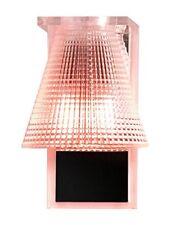 Kartell 9120ro – Lampada da parete in plastica colore Rosa