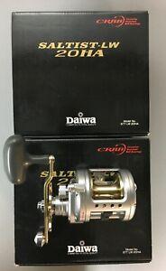 Daiwa STTLW20HA Saltist 20HA Level Wind Saltwater Fishing Reels (Brand New)