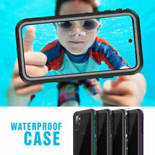 For Samsung Galaxy Note 10 Plus Clear Waterproof Case Hybrid Shockproof Cover