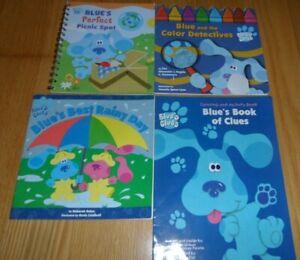 Lot of 4 Blue's Clue's Children's books  NICK JR