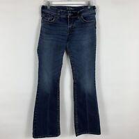 Silver Jeans Women's Size W31/L32 Suki Surplus Bootcut Mid Rise Medium Wash