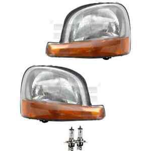 Headlight Set H4 for Renault Kangoo Express FC0/1_ KC0/1_ Incl. Osram Lamp