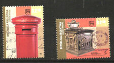 ARGENTINA 2011 UPAEP AMERICA OLD POST BOXES YV 2913-4 MNH
