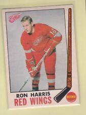 1969-70 O PEE CHEE HOCKEY RON HARRIS #64 RED WINGS EX+/EXMT *62706