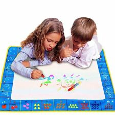 Water Painting Drawing Writing Board Mat Magic Pen Doodle Toy Kids Gift