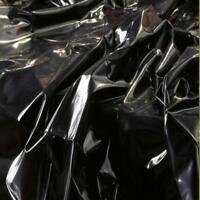 PVC DUVET COVER PATENT LEATHER VINYL HIGH GLOSS UK SELLER FAST POST Single