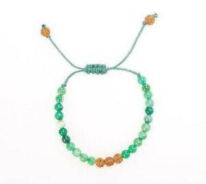 Rudraksha Beads Bracelet with Gemstone Unisex Bracelets Handmade