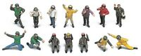 Hasegawa 1/48 US Navy Pilot / Deck Crew Set A Plastic Model X48-6 Japan