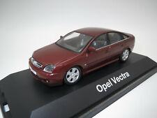 """SCHUCO 02681  Opel  Vectra  """"Fließheck""""  (rot/braun-met.)  1:43  OVP !!"""