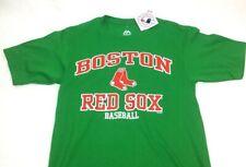 NEW Official MLB Majestic Boston Red Sox Basic Green T Shirt Mens XLarge FREESHP