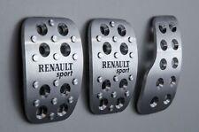 Clio 2- RENAULT sport aluminium pedal set