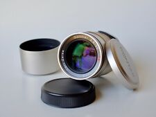 CONTAX Carl Zeiss T* Sonnar 90mm F2.8 with Contax Metal Hood