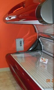 "ERGOLINE 600"" 12-15 min tanning bed level 3-4 160 watt bed with 4 facials"