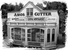 BAR MILLS 462 HO Amos Cutter's General Store - Laser Cut Kit -     MODELRRSUPPLY
