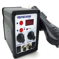 110//220V 898D  2 in 1Rework Soldreing Station Solder Iron LCD Soldering Iron