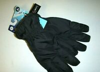 Isotoner mens SLEEKHEAT Cold Weather touch screen winter gloves - Black -Large